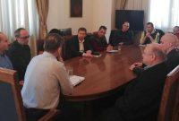 Συνάντηση του Δημάρχου Κοζάνης με εκπροσώπους των σούπερ μάρκετ της Κοζάνης για τη στήριξη των τοπικών προϊόντων