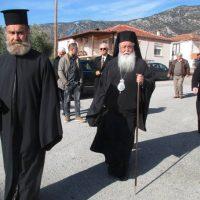 Ο Μητροπολίτης Σερβίων και Κοζάνης κ. Παύλος στην ι. πανήγυρη του Αγίου Βλασίου στην Ίμερα