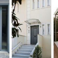 Σύγχρονες και μοντέρνες πόρτες αλουμινίου για μέγιστη ασφάλεια