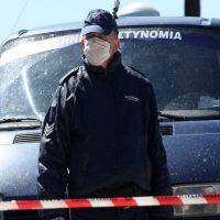 Σε καραντίνα 14 αστυνομικοί μετά τη σύλληψη αλλοδαπού θετικού στον covid-19