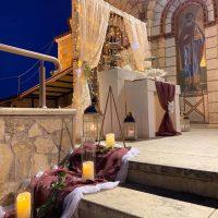 Ένας υπέροχος βραδινός χειμωνιάτικος γάμος υπό την επιμέλεια του καταστήματος Δημιουργίες Like a Dream