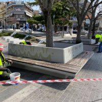 Εργασίες συντήρησης από τον Δήμο Κοζάνης σε σημεία της κεντρικής πλατείας – Δείτε φωτογραφίες