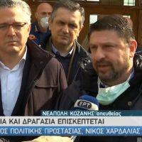 Ν. Χαρδαλιάς από Νεάπολη Κοζάνης: «Δεν υπάρχει κάτι που μας απασχολεί αλλά λαμβάνουμε υπόψη τα γενικότερα επιδημιολογικά χαρακτηριστικά της περιοχής»