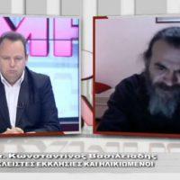Ο πατέρας Κωνσταντίνος Βασιλειάδης από το Βόιο σχολιάζει την επικαιρότητα με τον Μιχάλη Αγραφιώτη στην «Ώρα Αιχμής» του Flash
