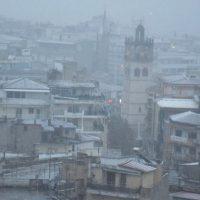 Στα λευκά έχει ντυθεί η πόλη της Κοζάνης – Δείτε βίντεο και φωτογραφίες