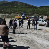 Πραγματοποιήθηκε η περιοδεία του βουλευτή του ΚΚΕ Λεωνίδα Στολτίδη σε ορυχεία λιγνίτη της Κοζάνης