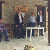 Επίσκεψη του Γ. Αμανατίδη σε Δαμασκηνιά και Δραγασιά παρουσία του Δημάρχου Βοΐου, των Προέδρων και Δημοτικών Συμβούλων
