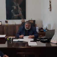 Υπογραφή σύμβασης για το έργο «Εργασίες αποκατάστασης καθίζησης εδαφόπλακας Μονάδας ΑΣ II στο 9ο Δημοτικό Σχολείο Πτολεμαΐδας»