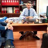 Συνάντηση εργασίας του Μιχάλη Παπαδόπουλου με τον Γενικό Γραμματέα Επενδύσεων και ΕΣΠΑ Δημήτρη Σκάλκο