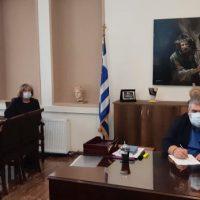 Υπογραφή σύμβασης για το έργο με τίτλο: «Αντικατάσταση εξωτερικών κουφωμάτων στο Δημοτικό Σχολείο της Τ.Κ. Βλάστης»