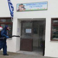 Συνεχίζονται οι απολυμάνσεις σε δημοτικά και νηπιαγωγεία του Δήμου Κοζάνης