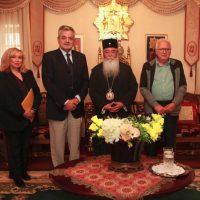 Επίσκεψη του Αντιπεριφερειάρχη Π.Ε. Κοζάνης στον Σεβασμιώτατο Μητροπολίτη Σερβίων – Κοζάνης