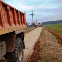 Αποκατάσταση καταστραμμένων δρόμων από την θεομηνία στο δίκτυο αναδασμού του Τ.Ο.Ε.Β Σερβίων