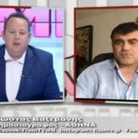 Συνέντευξη του Κώστα Βαξεβάνη στον Μιχάλη Αγραφιώτη: «Κυνικές, επιπόλαιες και υπέρ ξένων συμφερόντων οι δηλώσεις Μητσοτάκη για τη Δυτική Μακεδονία»