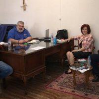 Το Δήμο Εορδαίας επισκέφθηκε η Βουλευτής Κοζάνης Παρασκευή Βρυζίδου