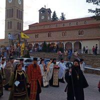 Λιτάνευση της Ιεράς εικόνας και του Ιερού λειψάνου της Αγίας Μαρίνας στον ομώνυμο Ι.Ν. στο Τσοτύλι Κοζάνης – Δείτε φωτογραφίες