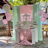 Ρομαντική βάπτιση με θέμα το Carousel από το κατάστημα «Δημιουργίες Like a Dream» στην Κοζάνη