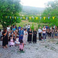 Ο εορτασμός του Αγίου Παϊσίου στο ομώνυμο εξωκλήσι στους πρόποδες του βουνού «Καγιάπασι» στην Ξηρολίμνη Κοζάνης – Δείτε φωτογραφίες