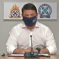 Νέα έκτακτα μέτρα ανακοίνωσε ο Νίκος Χαρδαλιάς – Χρήση μάσκας σε όλους τους κλειστούς χώρους, όριο 100 ατόμων στα μυστήρια – Δείτε αναλυτικά