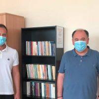 Στήθηκε η πρώτη χαριστική Βιβλιοθήκη του Wincancer στο Ογκολογικό τμήμα του Νοσοκομείου Πτολεμαΐδας