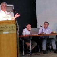 Παρουσίαση των έργων της Π.Ε. Κοζάνης για τον Δήμο Βελβεντού από τον Αντιπεριφερειάρχη Γρηγόρη Τσιούμαρη