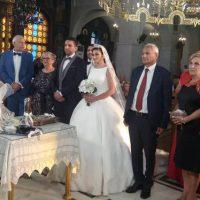 Με τα ιερά δεσμά του γάμου ενώθηκαν ο εκδότης της εφημερίδας Πτολεμαίος Αντώνης Πουγαρίδης με την εκλεκτή της καρδιάς του ιατρό Νάσρα Χαντάντ
