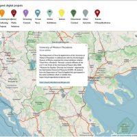 Τμήμα Εικαστικών και Εφαρμοσμένων Τεχνών του ΠΔΜ: Ένταξη της έκθεσης «Διαδικτυακή Εικαστική Πανδημία» σε διαδραστικό παγκόσμιο χάρτη ψηφιακών πρωτοβουλιών Μουσείων