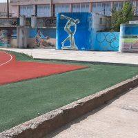 Γκράφιτι στο ΔΑΚ Γρεβενών έγινε ο Πρωταθλητής Στίβου Μίλτος Τεντόγλου