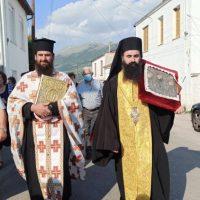 Η Ιερά εικόνα της Αγίας Τριάδος στον Πελεκάνο Κοζάνης – Δείτε φωτογραφίες