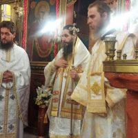 Όρθρος και Αρχιερατική Θεία Λειτουργία στον Αλιάκμονα Κοζάνης χοροστατούντος του Μητροπολίτη Σισανίου και Σιατίστης κ. Αθανασίου