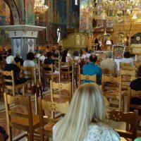 Νέα Χαραυγή Κοζάνης: Μέγας Πανηγυρικός Εσπερινός στον Ι.Ν. Κοιμήσεως της Θεοτόκου – Δείτε φωτογραφίες