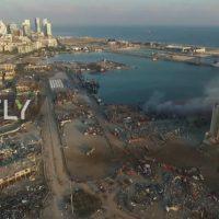 Λίβανος: Βομβαρδισμένο τοπίο η Βηρυτός – Η ισχυρότερη έκρηξη μετά την Χιροσίμα και το Ναγκασάκι – Δείτε το βίντεο