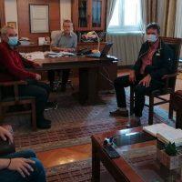 Συνάντηση με το προεδρείο του Μελισσοκομικού Συλλόγου Κοζάνης είχε ο δήμαρχος Κοζάνης Λάζαρος Μαλούτας