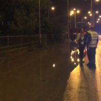 Βίντεο: Πλημμύρησε η επαρχιακή οδός Πτολεμαΐδας – Άρδασσας στη συμβολή με την περιφερειακή οδό της Δυτικής Εορδαίας
