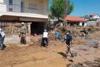 Δυναμική υποστήριξη Προσκόπων προς τους πληγέντες στην Εύβοια
