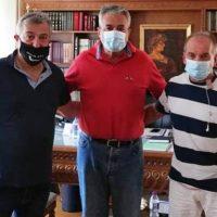 Επίσκεψη του Κυριάκου Μιχαηλίδη στον Αντιπεριφερειάρχη Κοζάνης Γρηγόρη Τσιούμαρη – Τι συζητήθηκε