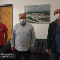 Συνάντηση των Εθελοντών Αιμοδοτών Αιμοπεταλιοδοτών της «Σταγόνας Ελπίδας» με τον διοικητή του Μποδοσάκειου Νοσοκομείου Πτολεμαΐδας