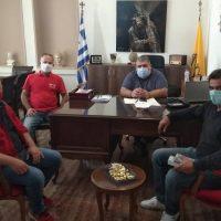 Συνάντηση των αιμοδοτών της «Σταγόνας Ελπίδας» με τον Δήμαρχο Εορδαίας