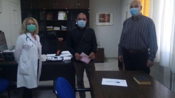 Νέα ορκωμοσία ιατρού στην Παιδιατρική Κλινική στο Μαμάτσειο Νοσοκομείο Κοζάνης