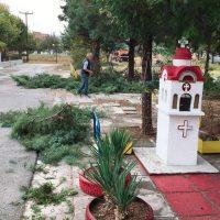 Στις Εργατικές Κατοικίες Πτολεμαΐδας τα συνεργεία του Δήμου Εορδαίας – Ξεκίνημα για το «Θεσμό της Γειτονιάς και της Κοινότητας»