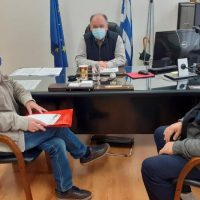 Συνάντηση του Πανελλήνιου Συλλόγου Αλληλεγγύης Συνταξιούχων ΔΕΗ με τον διοικητή του Μποδοσάκειου Νοσοκομείου Πτολεμαΐδας