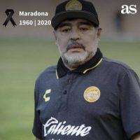 Παγκόσμιο σοκ προκαλεί η είδηση του θανάτου του Ντιέγκο Μαραντόνα