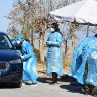 Διενεργήθηκαν rapid tests drive through σε οδηγούς στην Κοζάνη – Δείτε βίντεο και φωτογραφίες