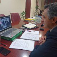 Η στήριξη της επιχειρηματικότητας και η ρήτρα δίκαιης μετάβασης συζητήθηκαν από τον Περιφερειάρχη Δ.Μ. με τον Υπουργό Επικρατείας μέσω τηλεδιάσκεψης