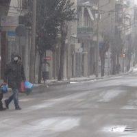 Ξεκίνησε η επέλαση της «Μήδειας» με χιονόπτωση και αρνητικές θερμοκρασίες στην Κοζάνη – Δείτε το βίντεο