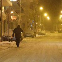 Βίντεο: Βόλτα στους παγωμένους δρόμους της Κοζάνης – Λευκό τοπίο σε ολόκληρη την πόλη