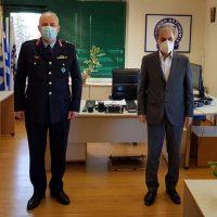 Επίσκεψη του Γιώργου Αμανατίδη στο Γενικό Περιφερειακό Αστυνομικό Διευθυντή Δυτικής Μακεδονίας Ταξίαρχο κ. Θωμά Νέστορα