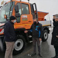 Συνεχίζεται η μάχη με το χιονιά στον Δήμο Βοΐου – 22 μηχανήματα επιχειρούν για τον αποχιονισμό των δρόμων
