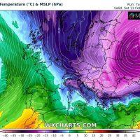 Βαρυχειμωνιά προ των πυλών: Τσουχτερό κρύο με ισχυρές χιονοπτώσεις σε αρκετές περιοχές