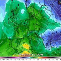 Ο καιρός την νέα εβδομάδα από την Δευτέρα 1 Μαρτίου έως την Κυριακή 7 Μαρτίου – Θερμοκρασιακή αλλαγή του καιρού χωρίς ιδιαίτερα φαινόμενα